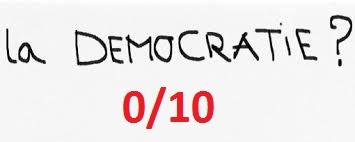 Democratie 0 sur 10
