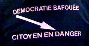 Democratie bafouee